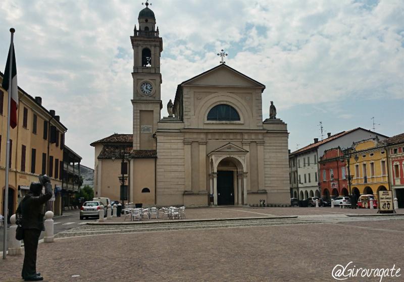 piazza Matteotti brescello