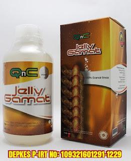 Ekstrak Gamat Emas, Sweetener stevia, Air Reverse Osmosis (RO), Pengemulsi Nabati, Essen Natural, Ekstrak Buah dan sayur