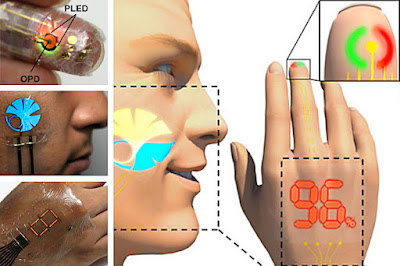 Electronic skin developed by scientists can monitor and display heart rate and more