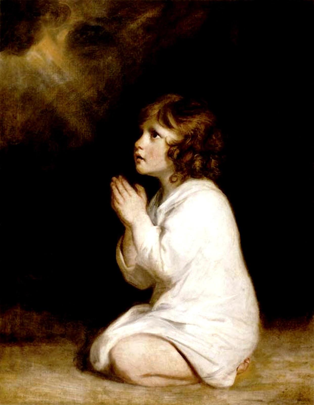 The Infant Samuel, Hannah's son