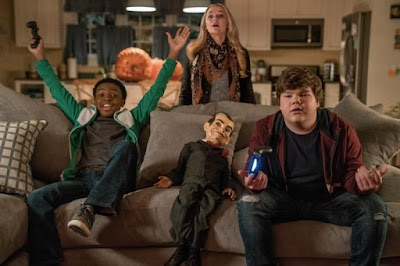 Goosebumps 2 Haunted Halloween 2018 movie still Madison Iseman Jeremy Ray Taylor Caleel Harris