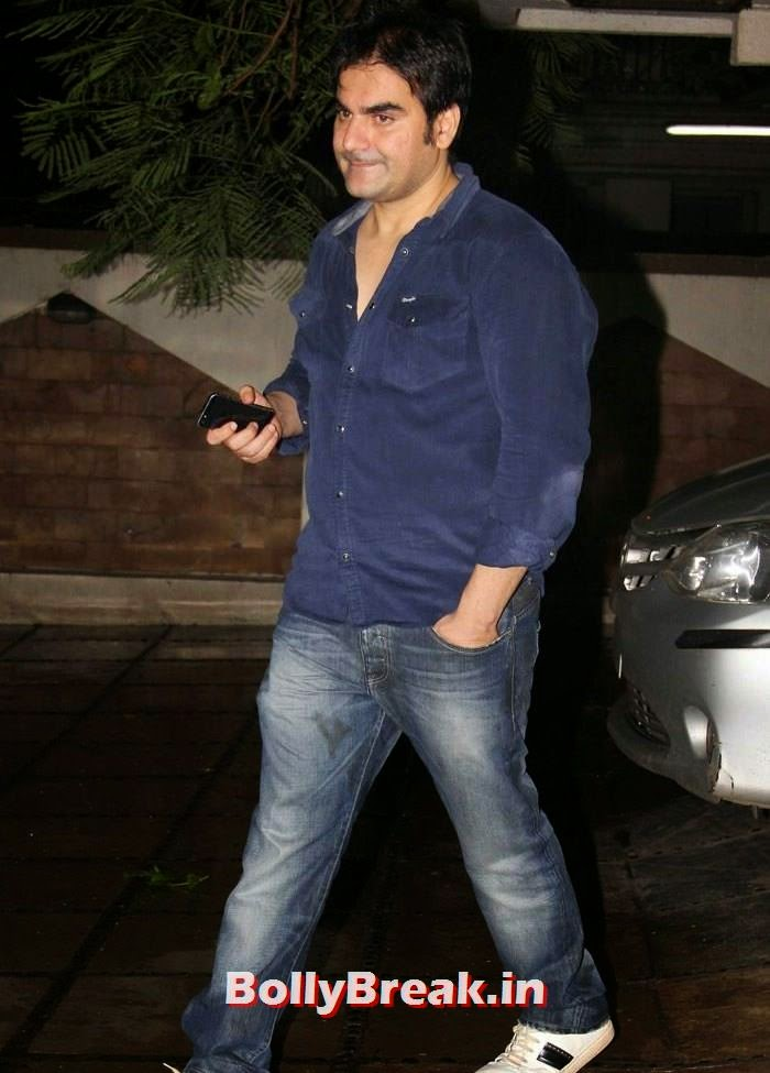 Arbaaz Khan, Suzzane, Nandita at Abhishek Kapoor Birthday Bash