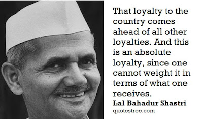 Lal Bahadur Shastri Quotes and Speeches