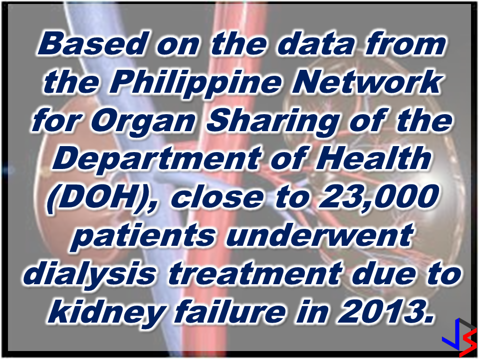 "Cases of kidney failures in the Philippines are rising  and patients suffering from the disease need to undergo dialysis treatment. The problem is, the treatments cost a lot. Sadly, not every Filipino could afford it especially those who live in rural areas and  those who belong to the urban poor.  A bill requiring all government hospitals to provide free dialysis treatment to underprivileged and poor patients has been proposed in the senate by Senator Sonny Angara.   Senate Bill 1329 or the proposed Dialysis Center Act, authored by Angara,  said the measure is in line with the government's efforts ""to reform the health sector and provide Filipinos with comprehensive health services."" The Senator noted that poor patients suffering from kidney ailment who are in the provinces could not afford the expenses of traveling all the way to the cities to seek dialysis treatment and to pay for the treatment itself.  He also cited that some people ,due to their poverty, are dying without even being given the chance to undergo a dialysis treatment because they could not afford to pay for it.      DOH figures does not include all of those who are suffering from kidney failures. It only include those who were not able to undergo dialysis due to lack of financial ability and the inaccessible proximity of available dialysis centers in rural areas.   If this proposal would materialize sooner, a new ray of hope would shine to the faces of the poor Filipinos. They could have the gift of a longer life, enough for them to enjoy the company of their loved ones a few days more.          RECOMMENDED: Poor PGH Patients to Benefit From P100Million Funds From President Rodrigo Duterte Known to be a President with a soft spot for the  poor and those who are in the lace of society, President Rodrigo Duterte has once again proved it when he allocated P100 million to fund the hospitalization of the poor patients at the state-owned Philippine General Hospital (PGH). The President turned over the check to PGH Director Dr. Gerardo Legaspi during a meeting in Malacañang on March 7, 2017.   In a statement released by Radio Television  Network Malacañang, it says that the said fund will be allocated for the underprivileged patients who cannot afford medical procedures and treatments.      The President has shown his soft spot for the poor after giving P2 billion from PAGCOR, to  the Department of Health  to be used for   the free medical assistance to the public.  Present during the meeting with the President were PGH Director Gerardo Legazpi,  Dr. Ireneo Quiron of the PGH Fiscal Services, Deputy Executive Secretary for Finance and Administration Rizalina Justol, and Special Assistant to the President (SAP) Christopher 'Bong' Go.  Recommended:   The President assures that he will bring 250 stranded OFWs from Saudi Arabia with him when he returned to the Philippines after a series of visit in the Middle East. During his speech in Davao before his departure, he said that God-willing, he will bring some OFWs in death row with him when he return to the country. During his speech in front of the Filipino Community in Riyadh , Saudi Arabia, President Duterte said that he will be bringing home the first batch of 250 OFWs who had been stranded in Saudi Arabia for a very long time, and they will continue to do it. ""We are arranging for the transportation of 250 OFWs who hopefully be back to the Philippines in time for the return of President Rodrigo Duterte.., "" DOLE Secretary Silvestre Bello III said. Secretary Bello also added that since the announcement of the Saudi Crown Prince Deputy Prime Minister and the Minister of Interior Prince Mohammed bin Naif Al Saud about the amnesty program for expats, DOLE has already sent an augmentation team to assist the OFWs to comply with the requirements for the amnesty and a lot of them have already availed it. According to Secretary Bello, they are also working on the unpaid claims of the OFWs and they are only validating it in order to establish their claims. If they are all been verified, OWWA will be paying their money claims in advance. President Duterte will also be visiting Bahrain and Qatar after his visit to Saudi Arabia and is expected to be back in the Philippines on April 17. Recommended: ""They've been given the clearance. I will fly them home. When I return, I'll be bringing some of them home, "" he said during a pre-departure press briefing in Davao City. Reports saying that the Embassy officials in Saudi Arabia have been acting slow with regards to helping stranded and runaway OFWs are not entirely correct according to Philippine Consul General Iric Arribas. He also said that the Philippine Embassy in Riyadh and the philippine Consulate in Jeddah are both providing the OFWs all the help they need which includes repatriation as well. 700 OFWs have been in jails in Saudi Arabia for various charges because there are no assistance coming from the Embassy officials, according to the reports from various OFW advocates. The OFWs are the reason why President Rodrigo Duterte is pushing through with the campaign on illegal drugs, acknowledging their hardships and sacrifices. He said that as he visit the countries where there are OFWs, he has heard sad stories about them: sexually abused Filipinas,domestic helpers being forced to work on a number of employers. ""I have been to many places. I have been to the Middle East. You know, the husband is working in one place, the wife in another country. The so many sad stories I hear about our women being raped, abused sexually,"" The President said. About Filipino domestic helpers, he said: ""If you are working on a family and the employer's sibling doesn't have a helper, you will also work for them. And if in a compound,the son-in-law of the employer is also living in there, you will also work for him.So, they would finish their work on sunrise."" He even refer to the OFWs being similar to the African slaves because of the situation that they have been into for the sake of their families back home. Citing instances that some of them, out of deep despair, resorted to ending their own lives. The President also said that he finds it heartbreaking to know that after all the sacrifices of the OFWs working abroad for the future of their families they would come home just to learn that their children has been into illegal drugs. ""I made no bones about my hatred. I said, 'If you do drugs in my city, if you destroy our daughters and sons, I'll just have to kill you.' I repeated the same warning when i became president,"" he said. Critics of the so-called violent war on drugs under President Duterte's administration includes local and international human rights groups, linking the campaign on thousands of drug-related killings. Police figures show that legitimate police operations have led to over 2,600 deaths of individuals involved in drugs since the war on drugs began. However, the war on drugs has been evident that the extent of drug menace should be taken seriously. The drug personalities includes high ranking officials and they thrive in the expense of our own children,if not being into drugs, being victimized by drug related crimes. The campaign on illegal drugs has somehow made a statement among the drug pushers and addicts. If the common citizen fear walking on the streets at night worrying about the drug addicts lurking in the dark, now they can walk peacefully while the drug addicts hide in fear that the police authorities might get them. Source:GMA {INSERT ALL PARAGRAPHS HERE {EMBED 3 FB PAGES POST FROM JBSOLIS/THOUGHTSKOTO/PEBA HERE OR INSERT 3 LINKS} ©2017 THOUGHTSKOTO www.jbsolis.com SEARCH JBSOLIS The OFWs are the reason why President Rodrigo Duterte is pushing through with the campaign on illegal drugs, acknowledging their hardships and sacrifices. He said that as he visit the countries where there are OFWs, he has heard sad stories about them: sexually abused Filipinas,domestic helpers being forced to work on a number of employers. ©2017 THOUGHTSKOTO www.jbsolis.com SEARCH JBSOLIS  ""They've been given the clearance. I will fly them home. When I return, I'll be bringing some of them home, "" he said during a pre-departure press briefing in Davao City. The President assures that he will bring 250 stranded OFWs from Saudi Arabia with him when he returned to the Philippines after a series of visit in the Middle East. During his speech in Davao before his departure, he said that God-willing, he will bring some OFWs in death row with him when he return to the country. During his speech in front of the Filipino Community in Riyadh , Saudi Arabia, President Duterte said that he will be bringing home the first batch of 250 OFWs who had been stranded in Saudi Arabia for a very long time, and they will continue to do it. ""We are arranging for the transportation of 250 OFWs who hopefully be back to the Philippines in time for the return of President Rodrigo Duterte.., "" DOLE Secretary Silvestre Bello III said. Secretary Bello also added that since the announcement of the Saudi Crown Prince Deputy Prime Minister and the Minister of Interior Prince Mohammed bin Naif Al Saud about the amnesty program for expats, DOLE has already sent an augmentation team to assist the OFWs to comply with the requirements for the amnesty and a lot of them have already availed it. According to Secretary Bello, they are also working on the unpaid claims of the OFWs and they are only validating it in order to establish their claims. If they are all been verified, OWWA will be paying their money claims in advance. President Duterte will also be visiting Bahrain and Qatar after his visit to Saudi Arabia and is expected to be back in the Philippines on April 17. Recommended: ""They've been given the clearance. I will fly them home. When I return, I'll be bringing some of them home, "" he said during a pre-departure press briefing in Davao City. Reports saying that the Embassy officials in Saudi Arabia have been acting slow with regards to helping stranded and runaway OFWs are not entirely correct according to Philippine Consul General Iric Arribas. He also said that the Philippine Embassy in Riyadh and the philippine Consulate in Jeddah are both providing the OFWs all the help they need which includes repatriation as well. 700 OFWs have been in jails in Saudi Arabia for various charges because there are no assistance coming from the Embassy officials, according to the reports from various OFW advocates. The OFWs are the reason why President Rodrigo Duterte is pushing through with the campaign on illegal drugs, acknowledging their hardships and sacrifices. He said that as he visit the countries where there are OFWs, he has heard sad stories about them: sexually abused Filipinas,domestic helpers being forced to work on a number of employers. ""I have been to many places. I have been to the Middle East. You know, the husband is working in one place, the wife in another country. The so many sad stories I hear about our women being raped, abused sexually,"" The President said. About Filipino domestic helpers, he said: ""If you are working on a family and the employer's sibling doesn't have a helper, you will also work for them. And if in a compound,the son-in-law of the employer is also living in there, you will also work for him.So, they would finish their work on sunrise."" He even refer to the OFWs being similar to the African slaves because of the situation that they have been into for the sake of their families back home. Citing instances that some of them, out of deep despair, resorted to ending their own lives. The President also said that he finds it heartbreaking to know that after all the sacrifices of the OFWs working abroad for the future of their families they would come home just to learn that their children has been into illegal drugs. ""I made no bones about my hatred. I said, 'If you do drugs in my city, if you destroy our daughters and sons, I'll just have to kill you.' I repeated the same warning when i became president,"" he said. Critics of the so-called violent war on drugs under President Duterte's administration includes local and international human rights groups, linking the campaign on thousands of drug-related killings. Police figures show that legitimate police operations have led to over 2,600 deaths of individuals involved in drugs since the war on drugs began. However, the war on drugs has been evident that the extent of drug menace should be taken seriously. The drug personalities includes high ranking officials and they thrive in the expense of our own children,if not being into drugs, being victimized by drug related crimes. The campaign on illegal drugs has somehow made a statement among the drug pushers and addicts. If the common citizen fear walking on the streets at night worrying about the drug addicts lurking in the dark, now they can walk peacefully while the drug addicts hide in fear that the police authorities might get them. Source:GMA {INSERT ALL PARAGRAPHS HERE {EMBED 3 FB PAGES POST FROM JBSOLIS/THOUGHTSKOTO/PEBA HERE OR INSERT 3 LINKS} ©2017 THOUGHTSKOTO www.jbsolis.com SEARCH JBSOLIS The OFWs are the reason why President Rodrigo Duterte is pushing through with the campaign on illegal drugs, acknowledging their hardships and sacrifices. He said that as he visit the countries where there are OFWs, he has heard sad stories about them: sexually abused Filipinas,domestic helpers being forced to work on a number of employers. ©2017 THOUGHTSKOTO www.jbsolis.com SEARCH JBSOLIS  Reports saying that the Embassy officials in Saudi Arabia have been acting slow with regards to helping stranded and runaway OFWs are not entirely correct according to Philippine Consul General Iric Arribas.  He also said that the Philippine Embassy in Riyadh and  the philippine Consulate in Jeddah are both providing the OFWs all the help they need which includes repatriation as well.   700 OFWs have been in jails in Saudi Arabia for various charges because there are no assistance coming from the Embassy officials, according to the reports from various OFW advocates.     The OFWs are the reason why President Rodrigo Duterte is pushing through with the campaign on illegal drugs, acknowledging their hardships and sacrifices. He said that as he visit the countries where there are OFWs, he has heard sad stories about them: sexually abused Filipinas,domestic helpers being forced to work on a number of employers. ""I have been to many places. I have been to the Middle East. You know, the husband is working in one place, the wife in another country. The so many sad stories I hear about our women being raped, abused sexually,"" The President said. About Filipino domestic helpers, he said: ""If you are working on a family and the employer's sibling doesn't have a helper, you will also work for them. And if in a compound,the son-in-law of the employer is also living in there, you will also work for him.So, they would finish their work on sunrise."" He even refer to the OFWs being similar to the African slaves because of the situation that they have been into for the sake of their families back home. Citing instances that some of them, out of deep despair, resorted to ending their own lives. The President also said that he finds it heartbreaking to know that after all the sacrifices of the OFWs working abroad for the future of their families they would come home just to learn that their children has been into illegal drugs. ""I made no bones about my hatred. I said, 'If you do drugs in my city, if you destroy our daughters and sons, I'll just have to kill you.' I repeated the same warning when i became president,"" he said. Critics of the so-called violent war on drugs under President Duterte's administration includes local and international human rights groups, linking the campaign on thousands of drug-related killings. Police figures show that legitimate police operations have led to over 2,600 deaths of individuals involved in drugs since the war on drugs began. However, the war on drugs has been evident that the extent of drug menace should be taken seriously. The drug personalities includes high ranking officials and they thrive in the expense of our own children,if not being into drugs, being victimized by drug related crimes. The campaign on illegal drugs has somehow made a statement among the drug pushers and addicts. If the common citizen fear walking on the streets at night worrying about the drug addicts lurking in the dark, now they can walk peacefully while the drug addicts hide in fear that the police authorities might get them. Source:GMA {INSERT ALL PARAGRAPHS HERE {EMBED 3 FB PAGES POST FROM JBSOLIS/THOUGHTSKOTO/PEBA HERE OR INSERT 3 LINKS} ©2017 THOUGHTSKOTO www.jbsolis.com SEARCH JBSOLIS  The OFWs are the reason why President Rodrigo Duterte is pushing through with the campaign on illegal drugs, acknowledging their hardships and sacrifices.  He said that as he visit the countries where there are OFWs, he has heard sad stories about them: sexually abused Filipinas,domestic helpers being forced to work on a number of employers   ©2017 THOUGHTSKOTO  www.jbsolis.com  SEARCH JBSOLIS     ©2017 THOUGHTSKOTO www.jbsolis.com SEARCH JBSOLIS"
