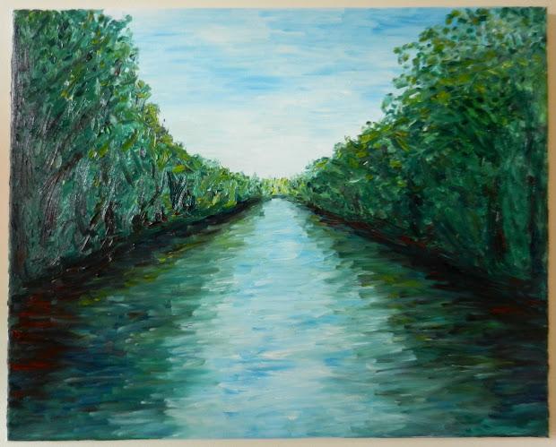 Impressionist Landscape Oil Painting