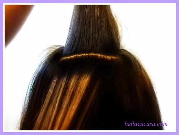 Retoque de mechas o rayos en el cabello paso a paso bella en casa - Como darse mechas en casa ...