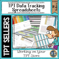 TPT Data Tracking Spreadsheets; Getting ready for the new year