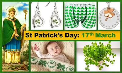 St Patrick's  Day Holiday 2019