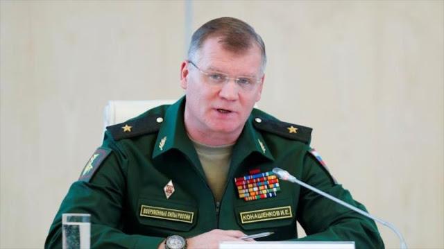 Rusia advierte a EEUU sobre expertos militares secretos en Siria