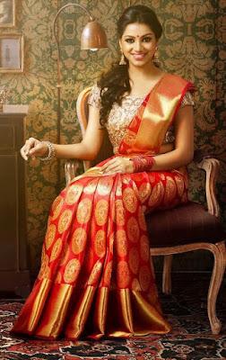Traditional-indian-banarasi-silk-saree-new-styles-for-girls-4