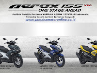 400 Unit Yamaha Aerox Sold Out Kurang Dari 3 Jam