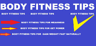 body fitness tips