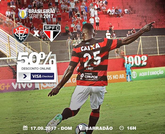 Assistir Vitória x São Paulo ao vivo HD grátis, pelo tablet, celular ou computador 1