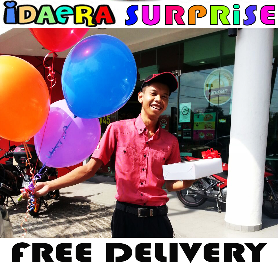 IdaEra Cupcakes & Cookies: SURPRISE DELIVERY RAWANG