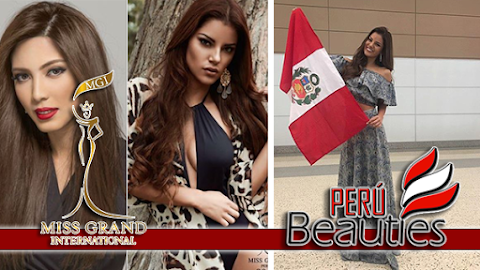 MISS GRAND INTL 2016 | Miss Perú arriba a Estados Unidos