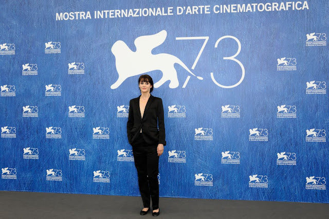 Full HQ Photos of Judith Chemla at Une Vie Photocall at 2016 73rd Venice Film Festival