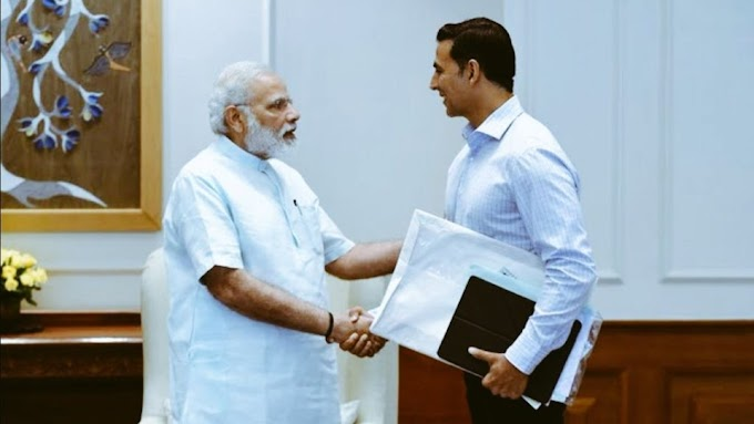 Akshay Kumar's video interaction with PM Narendra Modi to be aired tomorrow