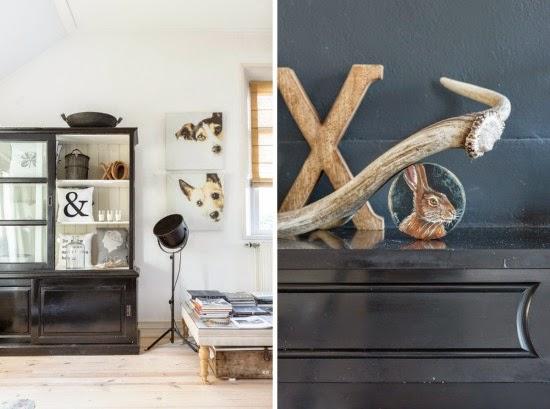 decoracion interior del mueble y detalles vintage