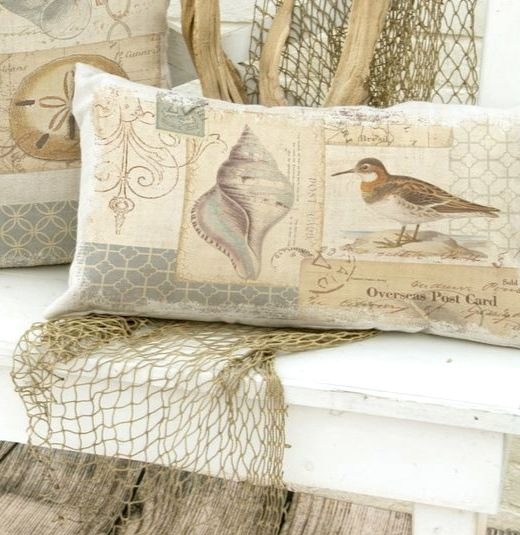 Neutral Coastal Summer Pillows