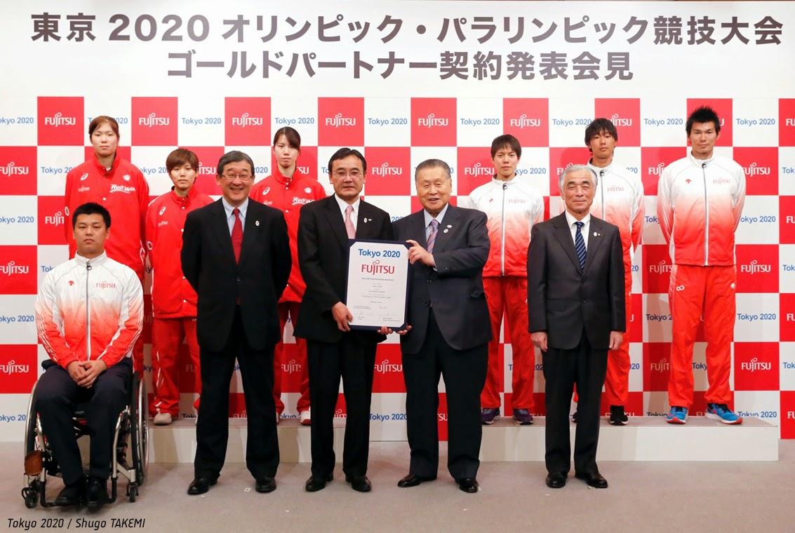 Fujitsu, nuevo Gold Sponsor de Tokyo 2020