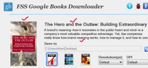 copy Google book preview pages tips