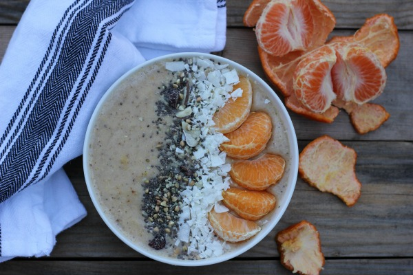 Clementine Smoothie Bowl