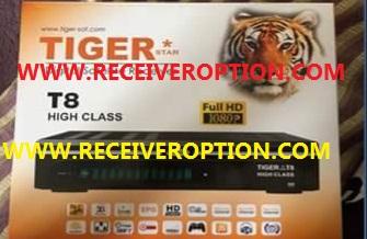 TIGER T8 HIGH CLASS HD RECEIVER POWERVU KEY FIX SOFTWARE