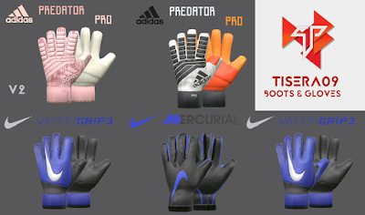 PES 2017 Mini GlovePack Season 2018/2019 by Tisera09