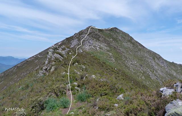Pico Vízcares - Piloña - Asturias