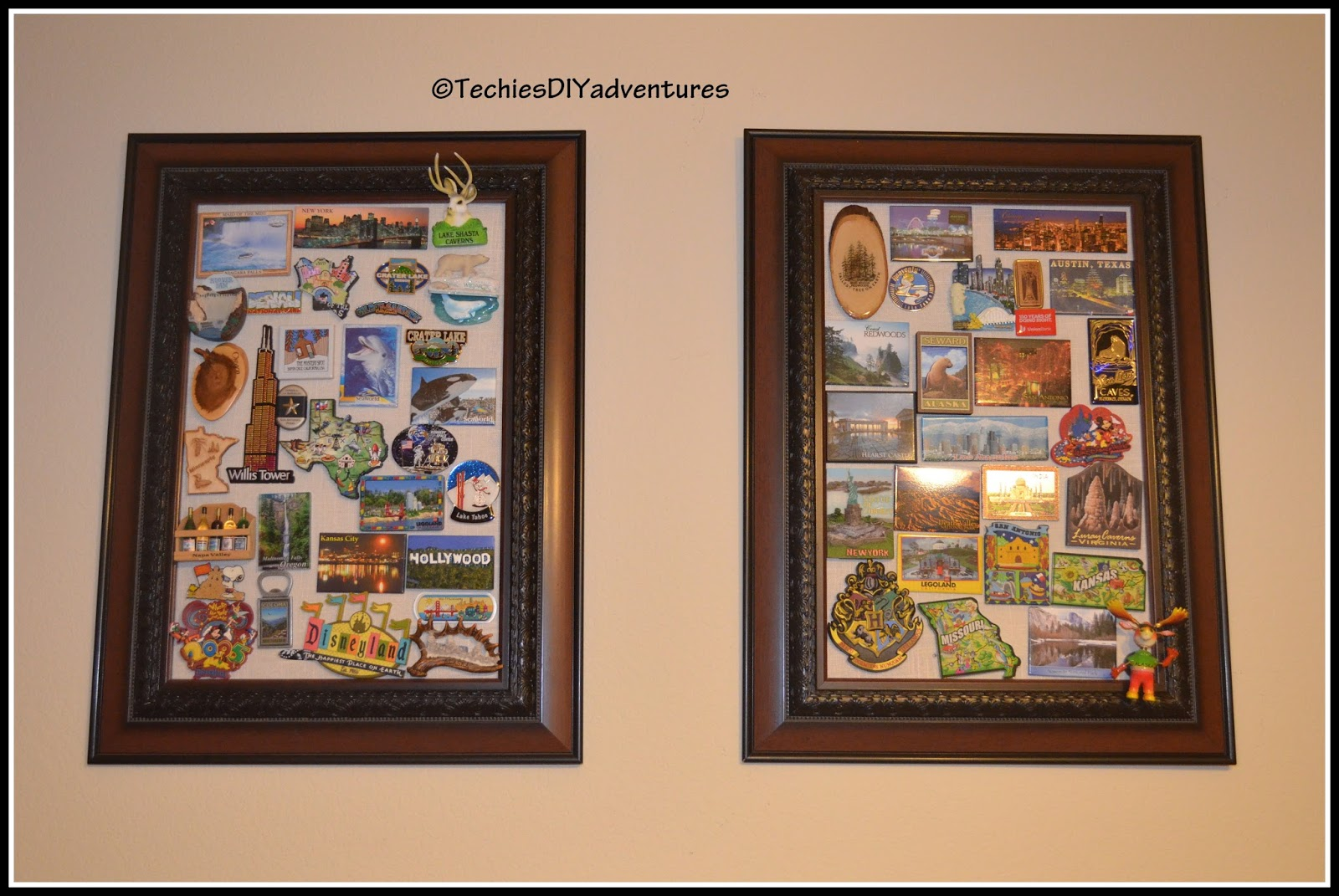 Magnetic Picture Frame Techie S Diy Adventures