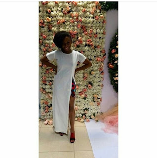 Chimamanda Adichie looks effortlessly chic at her daughter