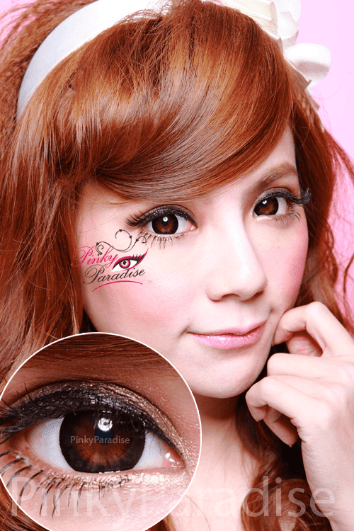 Hana SPC Barbie Circle Black Circle Lenses (Colored Contacts)