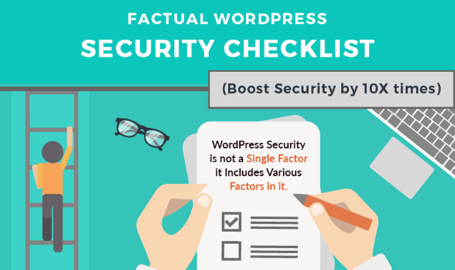 Factual WordPress Security Checklist