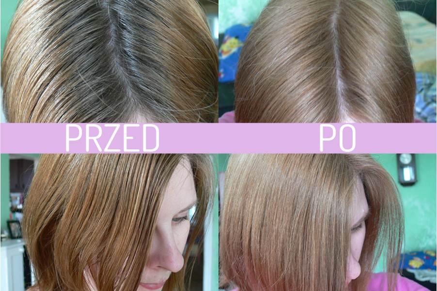 farba Avon Advance Techniques Średni Popielaty Blond 8.1 efekt