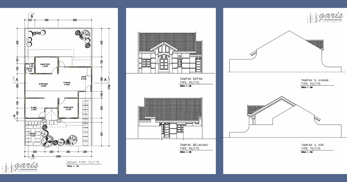 Desain Rumah Minimalis 2 Lantai Dan Rab - desain rumah ...