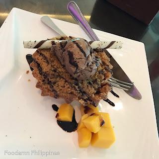 Apple Cobbler dessert from Dumaluan Beach Resort