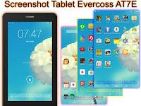 Cara Screenshot Tablet Evercoss AT7E