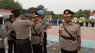 Ketua Cabang Bhyangkari Polres Indramayu  Dewi Arif Fajarudin
