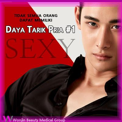 operasi plastik di korea untuk pria tipe sexy