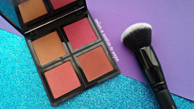 Haul de iHerb - paleta y brocha para coloretes de ELF