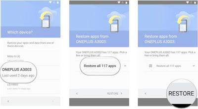 Cara Restore Data dan Aplikasi Android Dari Google Lengkap