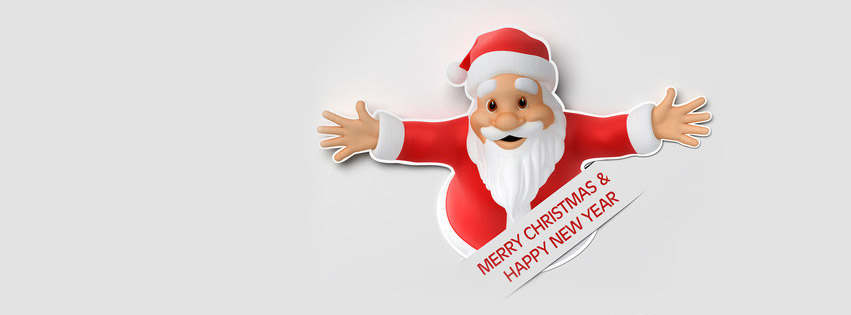 Merry Christmas & Happy New Year Cover Photo and Twitter Image