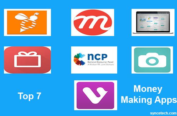 7 money making apps