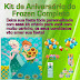 Kit de Aniversário do Frozen Completo para Imprimir e deixar sua festa linda!
