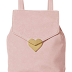 $28.07 (Reg. $145.18) + Free Ship Dear Drew by Drew Barrymore Mini Me Suede Backpack with Heart Closure!