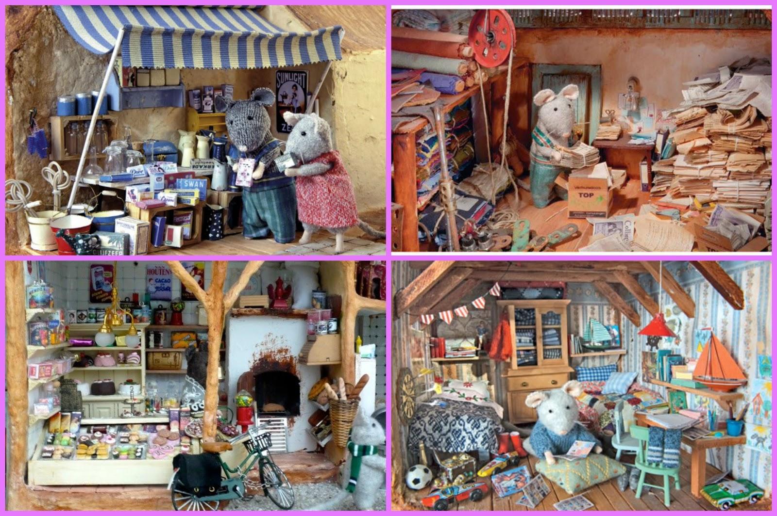 La biblioteca p blica de alfam n nos cuenta la casa de los ratones ideado creado y - Ratones en casa ...