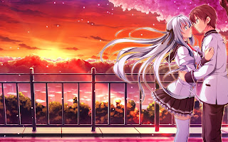 Lovers-with-romantic-sunset-background-HD-wallpaper-anime-1680x1050.jpg