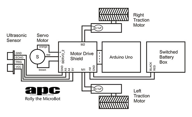 Membuat Robot Avoider Menggunakan Arduino