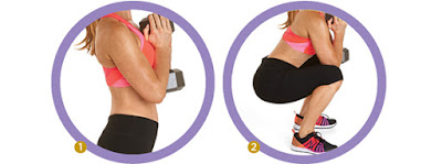 women's health - GOBLET SQUAT