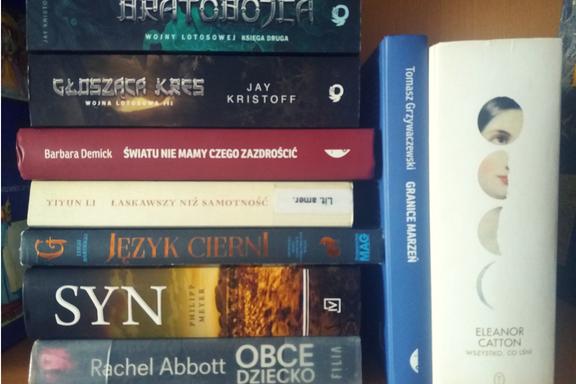 Book haul #9 Na zakończenie wakacji